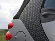 Auto naljepnica 3D crna samoljepljiva 1 rola = 1,52m x 15m